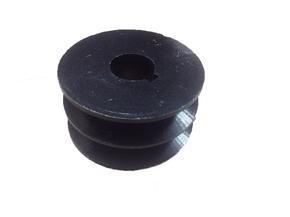 Шкив двухручейный (шпонка) Ф25мм