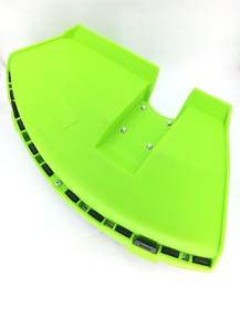 Защита ножа мотокосы зеленая на 4 болта