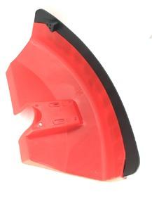 Защита ножа мотокосы красная на 6 болтов
