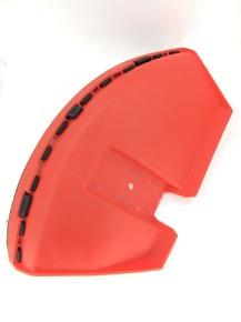 Защита ножа мотокосы красная на 8 болтов